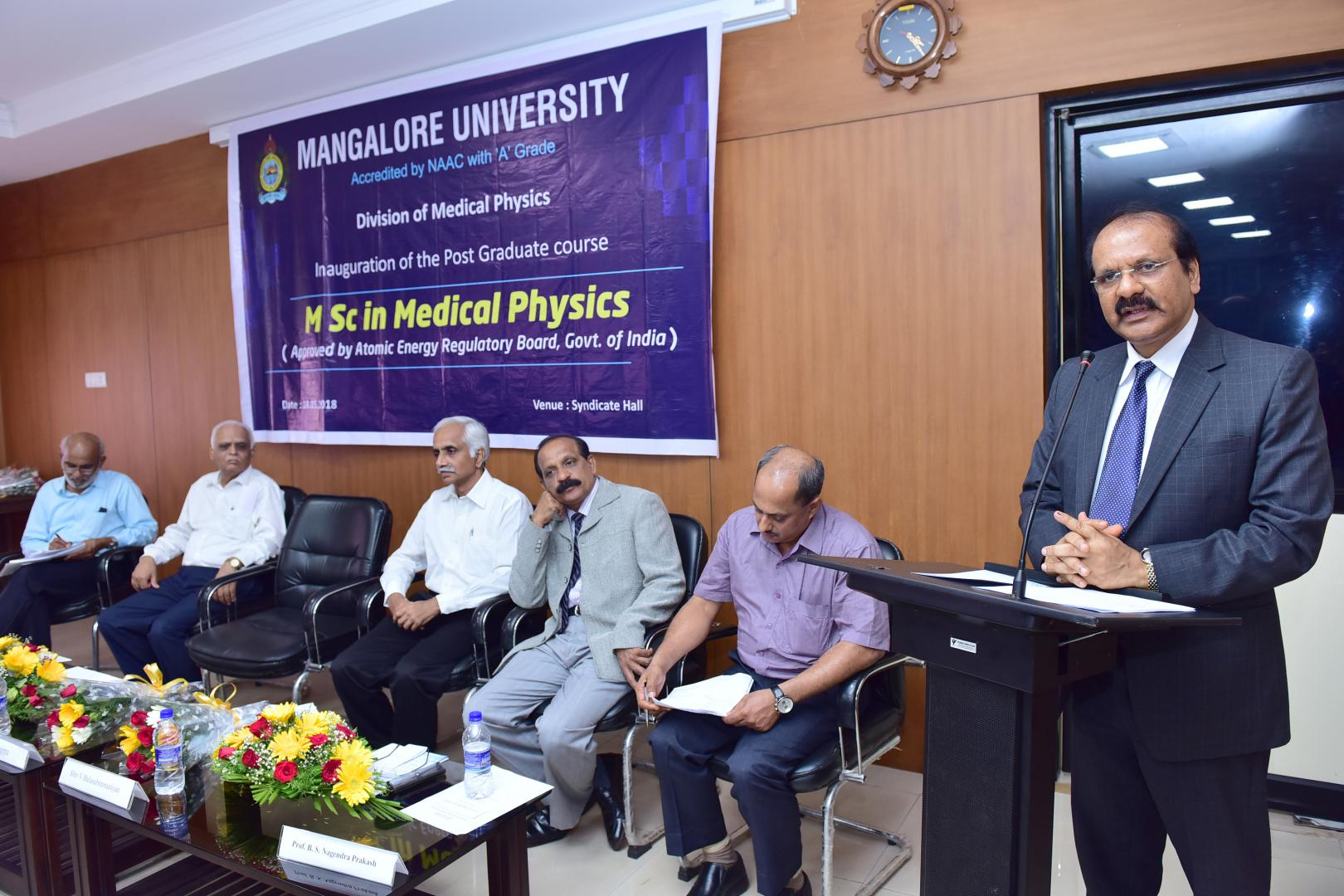 Inauguration of the Post Graduate course MSc in Medical